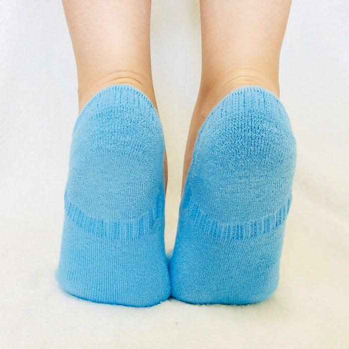 ラミーコットンパイル靴下