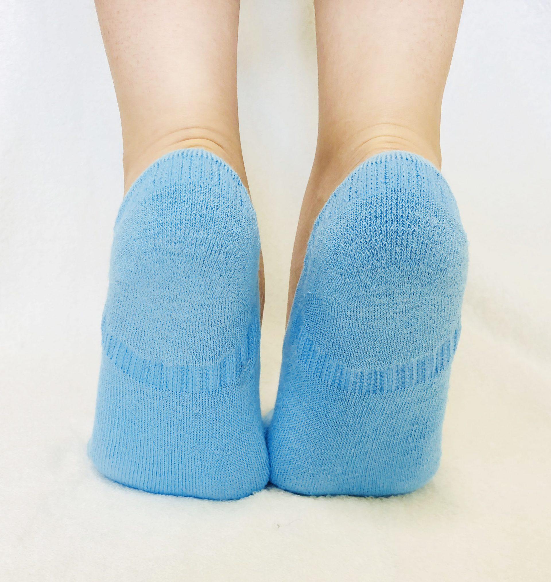 ラミーコットンパイル足袋型ソックス