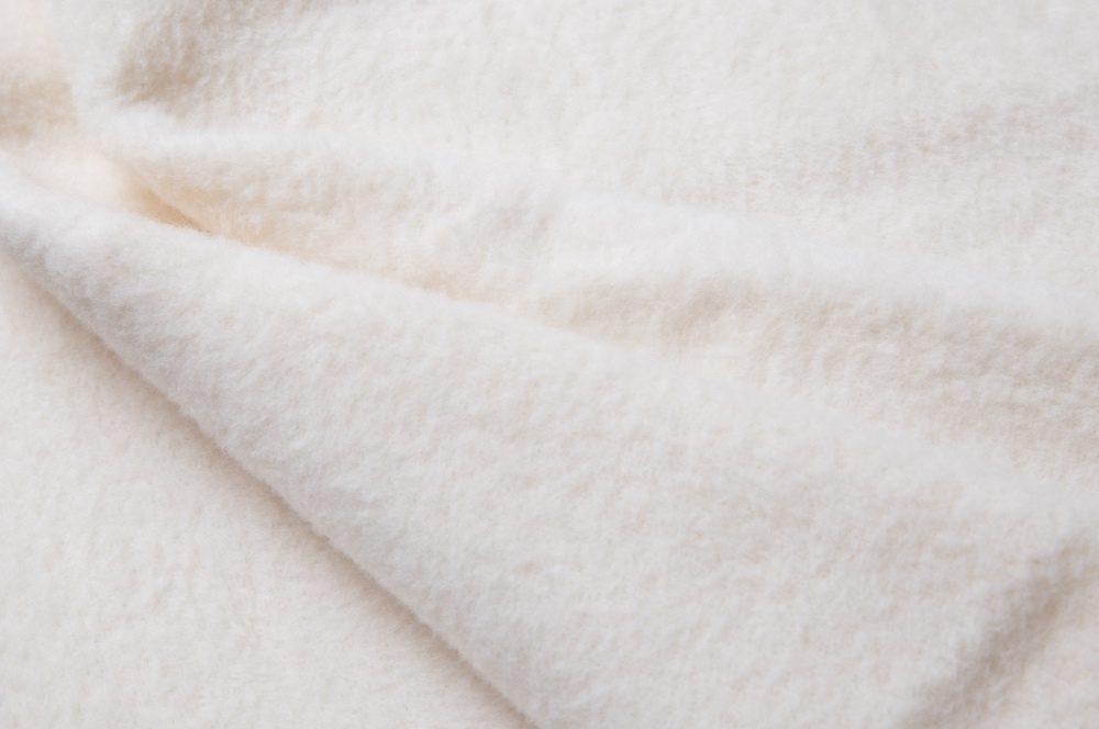 ウールコットン毛布のアップ