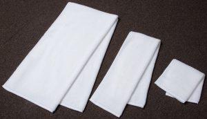 エジプト綿3本撚りパイルのバスタオル、フェイスタオル、ゲストタオル